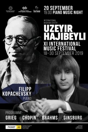 Məşhur pianoçu Filip Kopaçevski Bakıda konsert verəcək