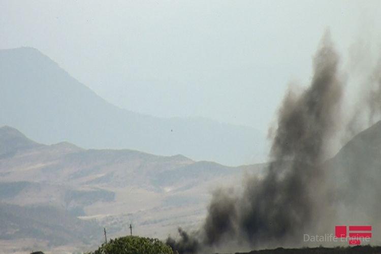 Ermənistan Silahlı Qüvvələri işğal etdiyi Azərbaycan ərazilərində yenidən yanğın törətdi
