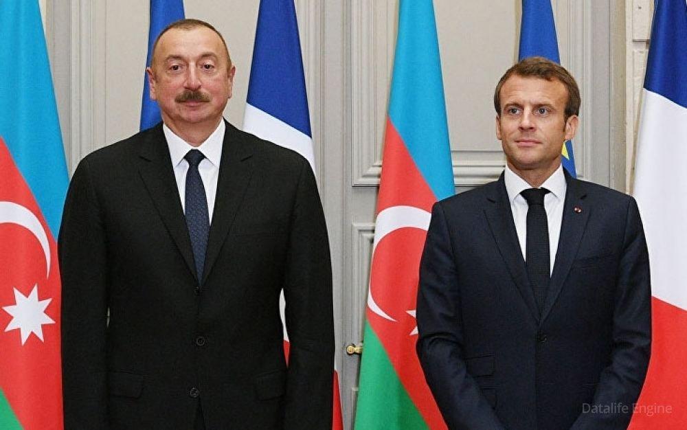 Fransa dövlət başçısı Prezident İlham Əliyevə telefonla zəng edib