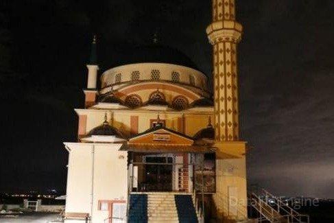 Türkiyədə məscidi ildırım vurdu