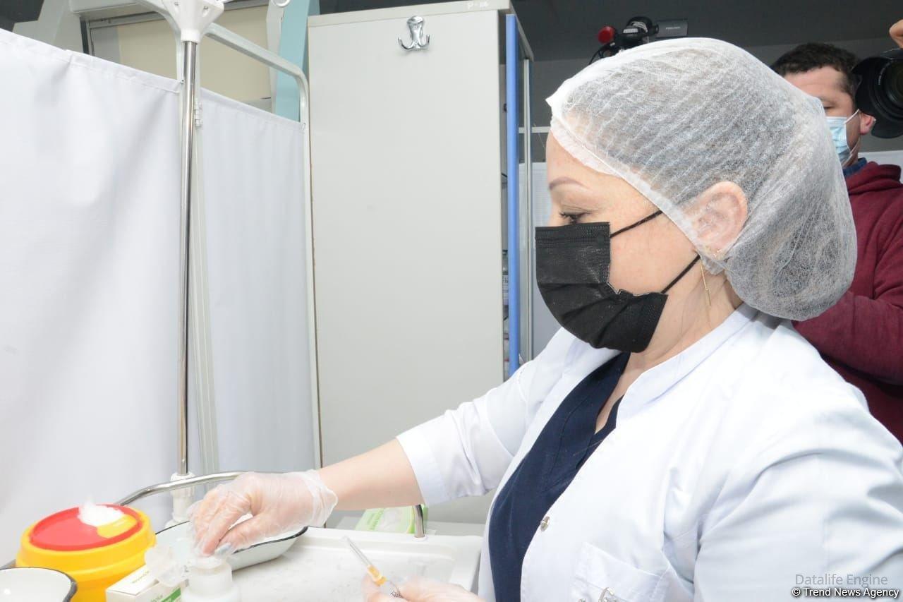 Azərbaycanda 411 mindən çox insan vaksinasiya olunub