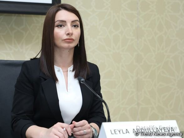 Hazırda Azərbaycanda saxlanılan erməni əsilli qadın yoxdur - Leyla Abdullayeva