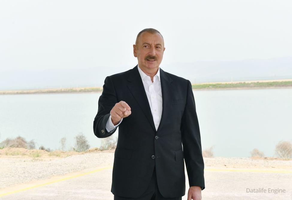 Azərbaycan Prezidenti: Azad edilmiş ərazilərin elektrik təchizatı bu ilin sonuna qədər başa çatacaq
