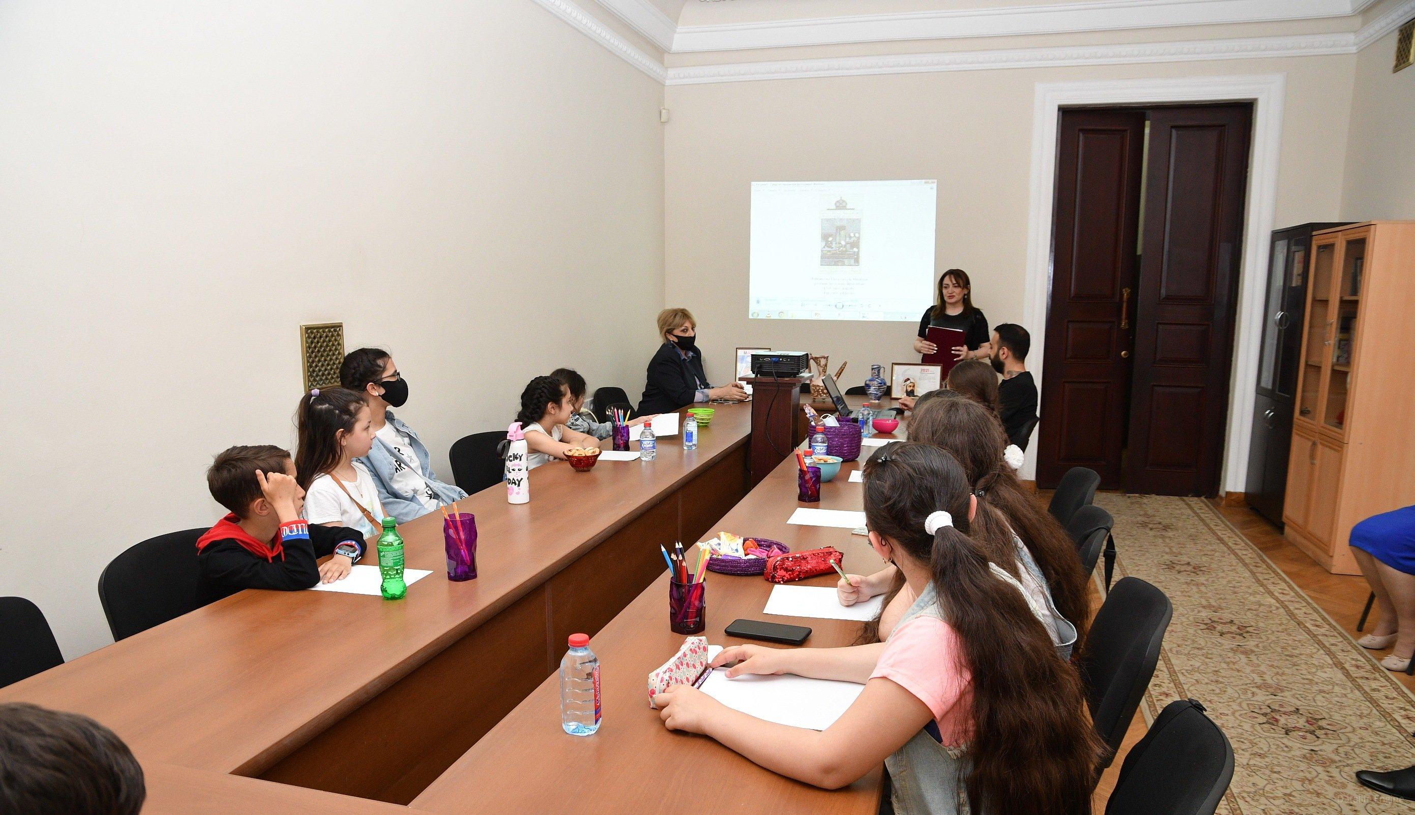 AMEA Milli Azərbaycan Tarixi Muzeyində Ustad dərslərə start verilib
