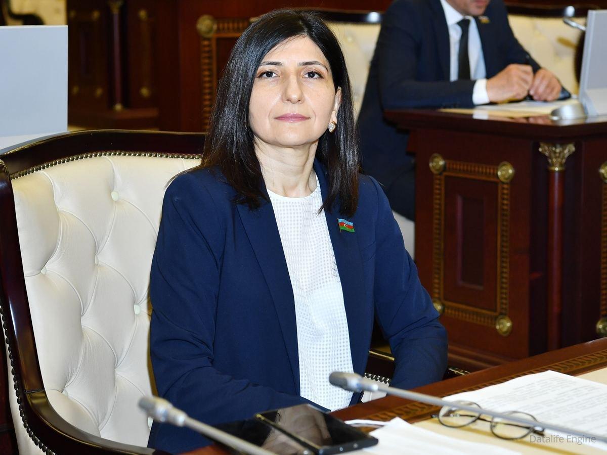 Deputat Sevil Mikayılova Milli Məclisdə Xaçmaz və Xudat sakinlərini narahat edən problemləri səsləndirib
