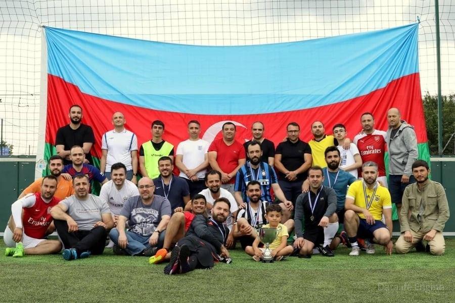 """Londonda """"Qarabağ kuboku"""" uğrunda futbol turniri təşkil edilib"""